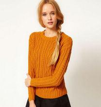 Fashionable girls aran sweater