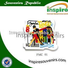 Customized soft PVC fridge magnets