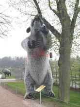 Outdoor Amusement Park Equipment Attractive Large Animal Model
