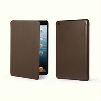 new arrival for Apple ipad mini PU leather stand case ultra thin folding covers
