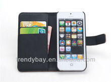 for apple for iphone 5 purse leather case