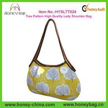 2013 New Designer Stylish Personalized Tree Pattern High Quality Lady Shoulder Bag