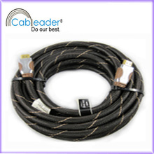 Gold Plated Black Support 3D 1080p 10 Meter HDMI Cable 1.4v