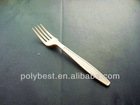 PS Heavy weight disposable plastic cutlery ,Fork,5.2g,S5101