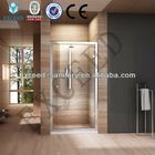 Luxury glass partition shower room