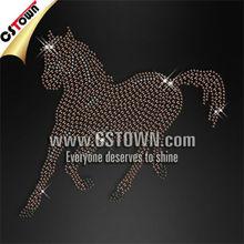 Strass horse motif hotfix t-shirt transfer images