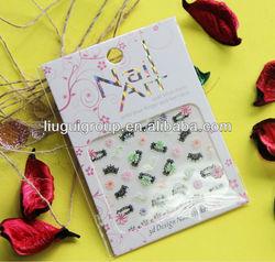 korea nail sticker,decoration nail sticker