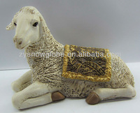 Sheep animal figurines for decoration gifts