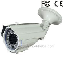 Long range Night vision CCTV waterproof Sony CCD Camera metal case 700tvl built-in bracket