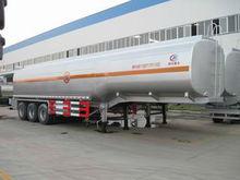 45,000-60,000L crude oil transport trailer, petroleum truck trailer, trailer tanker for sale