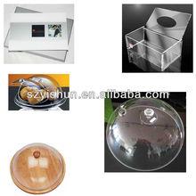 Custom acrylic covers acrylic food cover acrylic cover