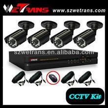 WETRANS CCTV KIT-5204BM Cheap CMOS Camera Security System DVR Kit