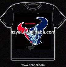 Brand newly design led tshirt / EL flashing t-shirt