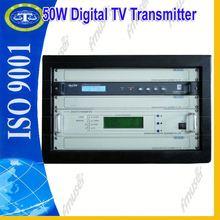 50W HD Digital TV Transmitter free view tvs D2
