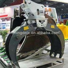 High quality Komatsu Excavator hydraulic rotating Grapple parts for sale