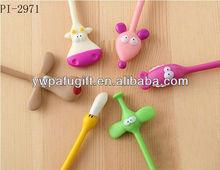 Promotional flexible animal ball point pen