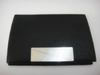 fancy office table business leather card holder black with laser company logo
