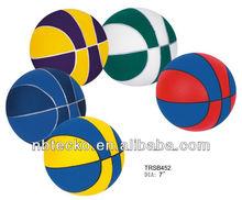 colorful PU Stress basketball