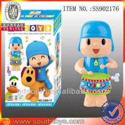 Turkey pocoyo cartoon wind up rocking toy