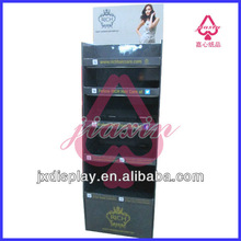 Cosmetic shop design of custom cardboard display rack