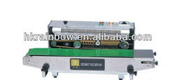 aluminium packaging printing heating sealer/sleeve lable machine