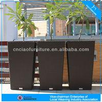 L-004 Light garden rattan flower pot furniture