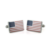 Fashion Cufflink Flag Cufflinks Stainless Steel American Flag Cuff Links