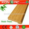 Ce e1 bambú producto bien conocido de la marca kondac, bambú mamperlán, decoración de madera escaleras de interiores