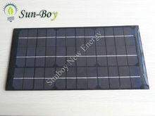 SBP10W 18V 200*400mm PET Laminated Solar Module