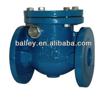 ductile iron swing check valve BS5153 standard ,PN16