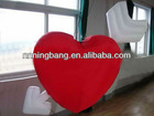 The Arrow of love in heart/inflatable led decoration/ inflatable lighting wedding decoration