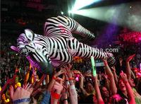 2013 Hot-Selling Giant inflatable zebra model for decoration/advertisment