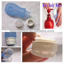 Designer Travel Bag with Cosmetic Bottle