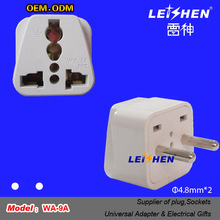 Hot AE/Russia/South America/EU Travel Plug Adapter with ce rohs