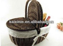 heze kaixin wicker basket for gift