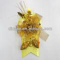 2013 bonitos enfeites de natal em papel cartão de plástico com pinhas
