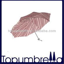"""21"""" 8rib premium folded umbrella gift craft umbrella"""