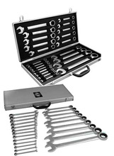 22pcs ratchet spanner with silver strong box(Professional and High Quality hand tool set)