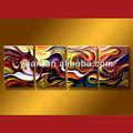 increíble de las artes de la moderna pintura al óleo abstracta decoración