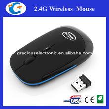Ultra slim mini usb 2.4G wireless optical mouse