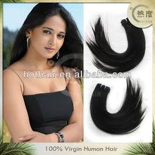 Hot selling 20 inch 100% virgin brazilian hair weave wholesale