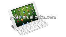 aluminum bluetooth keyboard cover for ipad mini