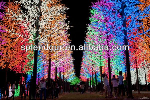LED Christmas tree light/LED cherry bolssom tree light/LED wirelss Christmas tree lights/outdoor ...