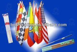 2014 National football Outdoor/Hand/String/flag Cape Rolling banner flag car air freshener