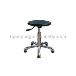 Height Adjustable Laboratory Stool ,PU Lab Stool