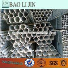 Hot dip Zinc coating G.I bs heavy grade steel pipe BS 1387 size