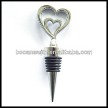 """Two Hearts Are Better Than One"" Heart Wine Stopper"