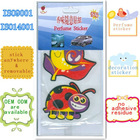 Customize size & sharp diy cell phone sticker with ISO certification