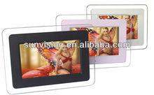 7 inch base function digital photo frame/7'' multi function digital photo frame