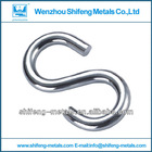 smetal hooks for hanging;s-shaped hook;stainless steel hanging hook